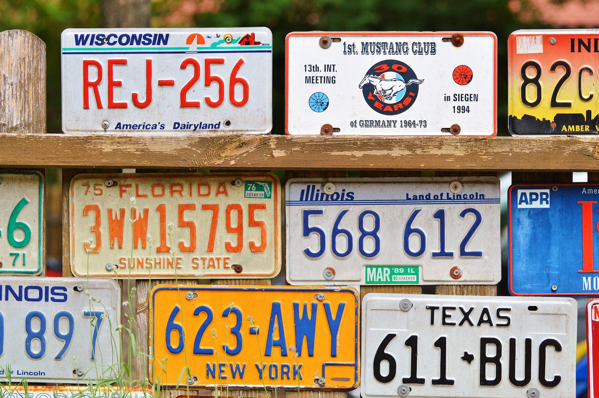 License plate 2438210 1920