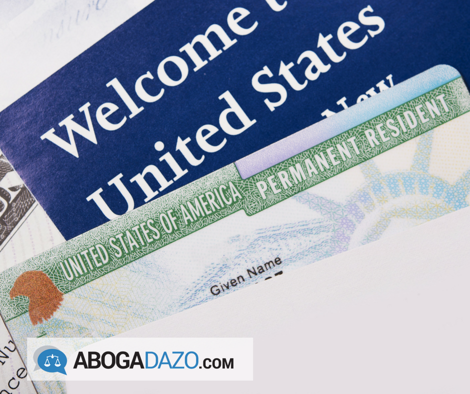 Abogadazo article about new permanent resident